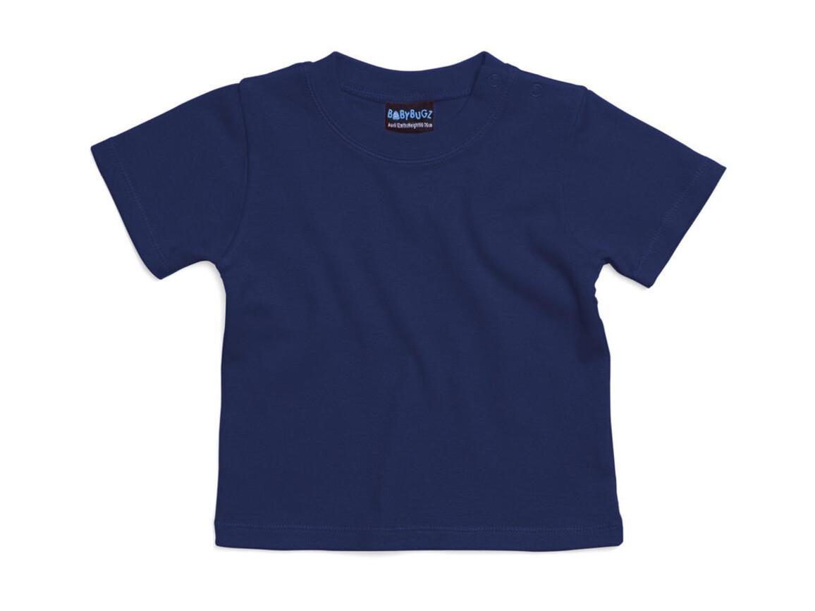 BabyBugz Baby T-Shirt, Nautical Navy, 12-18 bedrucken, Art.-Nr. 047472014