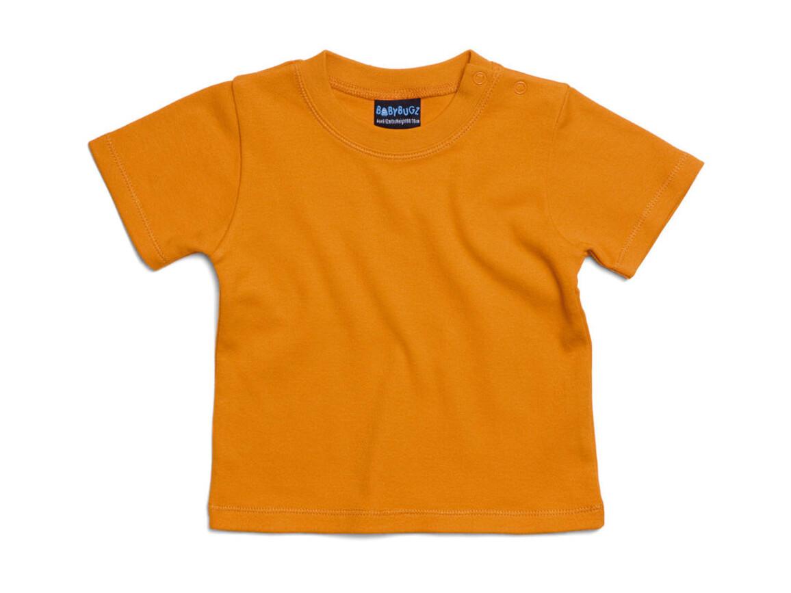 BabyBugz Baby T-Shirt, Orange, 12-18 bedrucken, Art.-Nr. 047474104