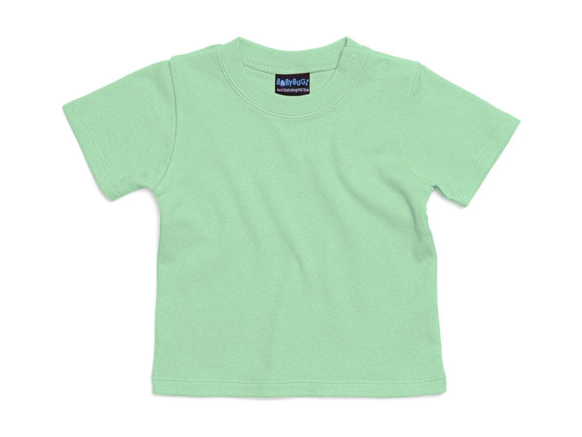 BabyBugz Baby T-Shirt, Mint Green, 0-3 bedrucken, Art.-Nr. 047475141