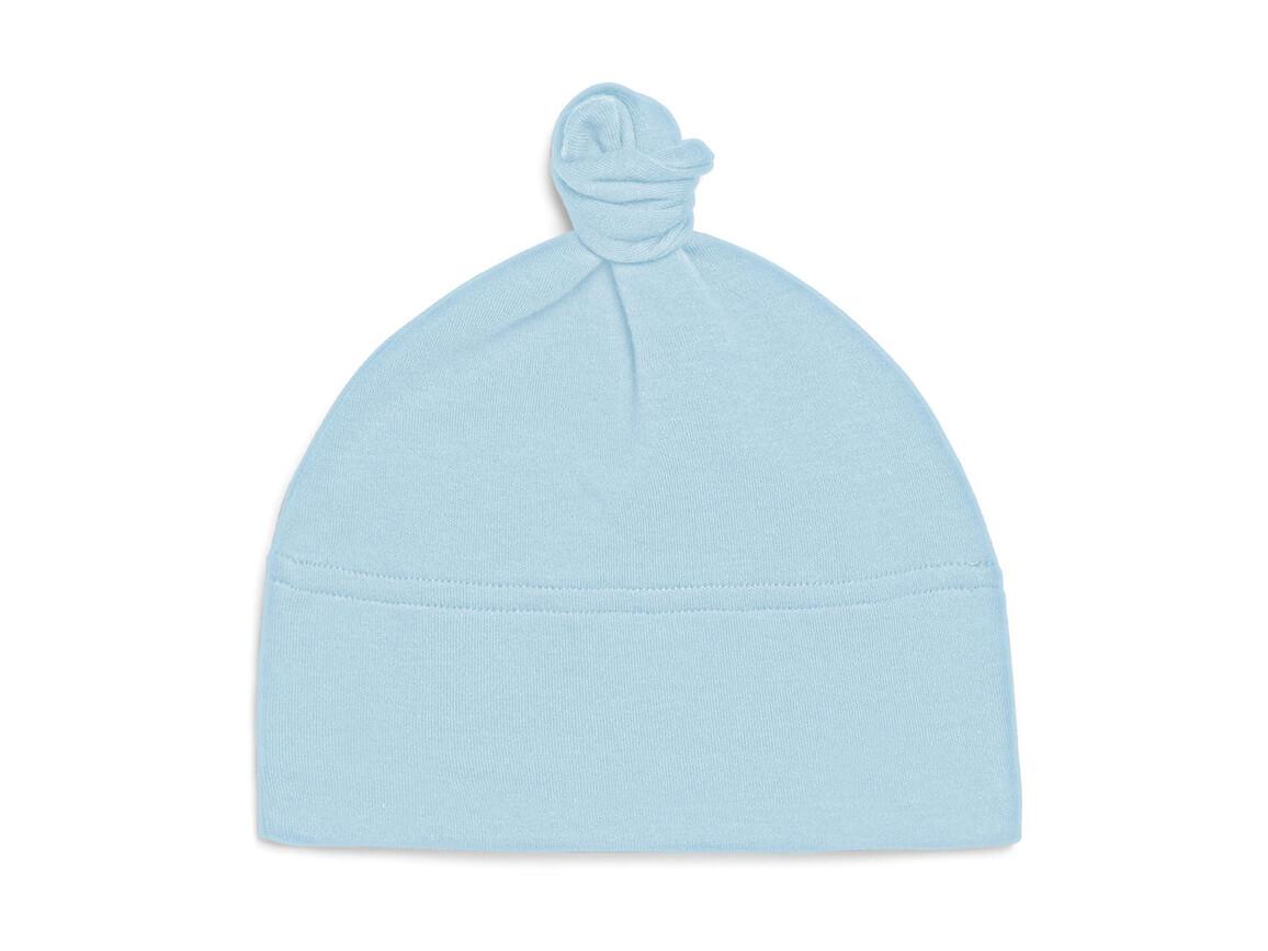 BabyBugz Baby 1 Knot Hat, Dusty Blue, One Size bedrucken, Art.-Nr. 054473110