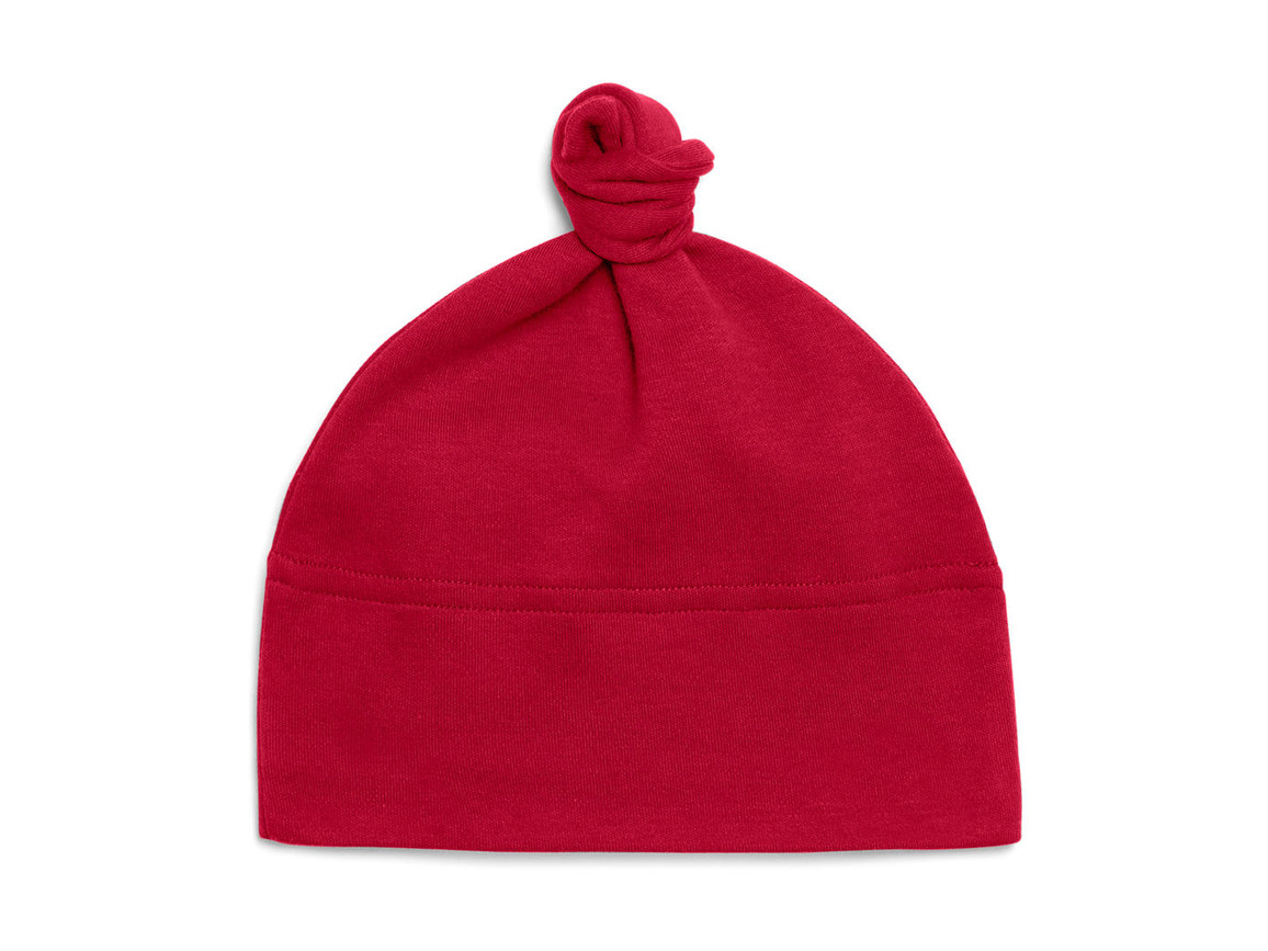 BabyBugz Baby 1 Knot Hat, Red, One Size bedrucken, Art.-Nr. 054474000