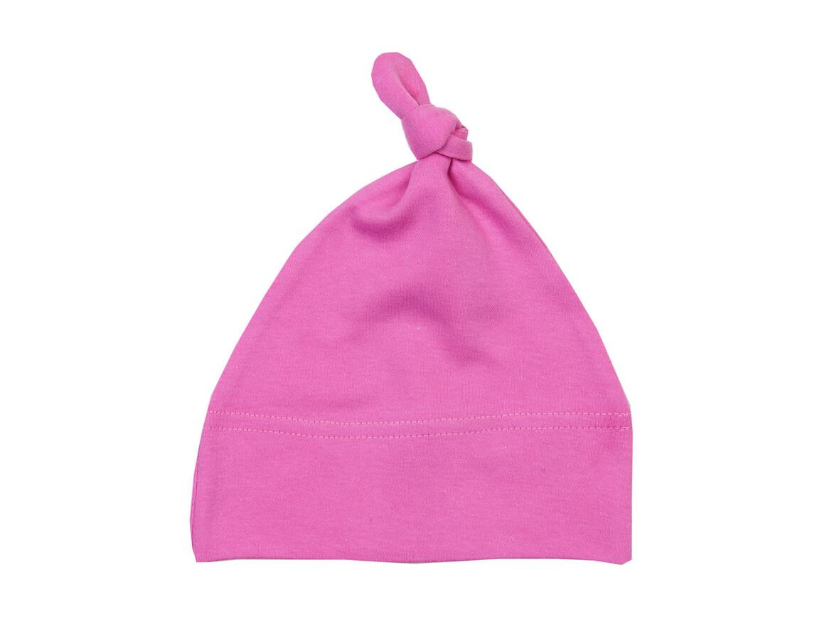 BabyBugz Baby 1 Knot Hat, Bubble Gum Pink, One Size bedrucken, Art.-Nr. 054474220