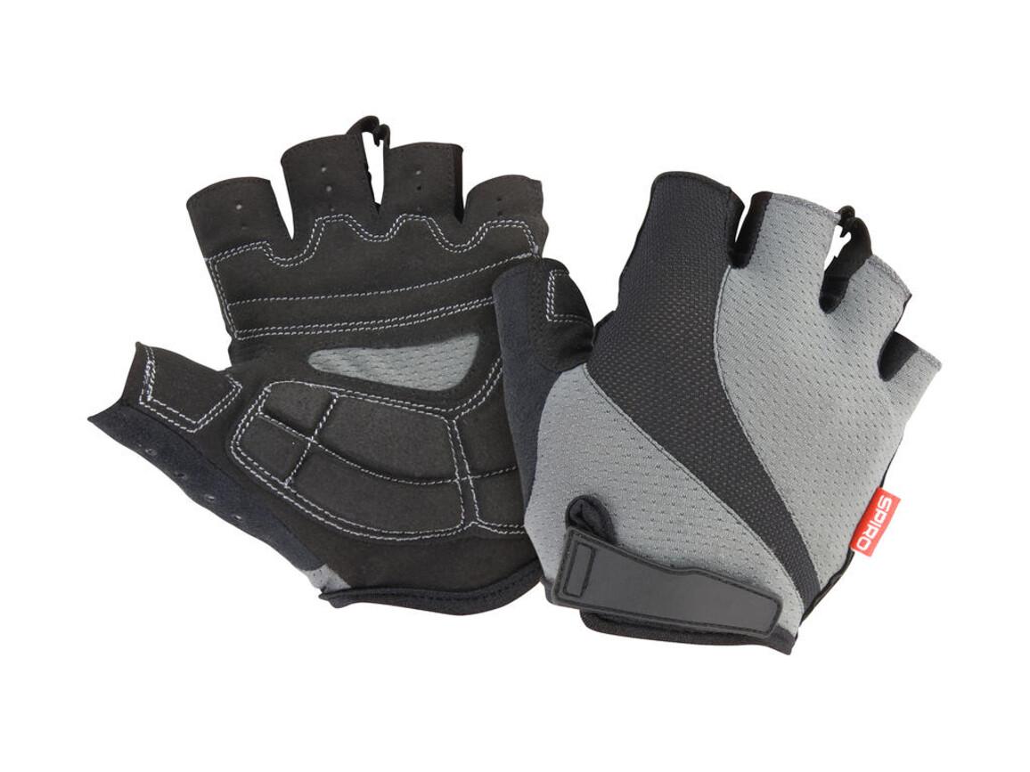 Result Spiro Summer Gloves, Grey/Black, M bedrucken, Art.-Nr. 056331484