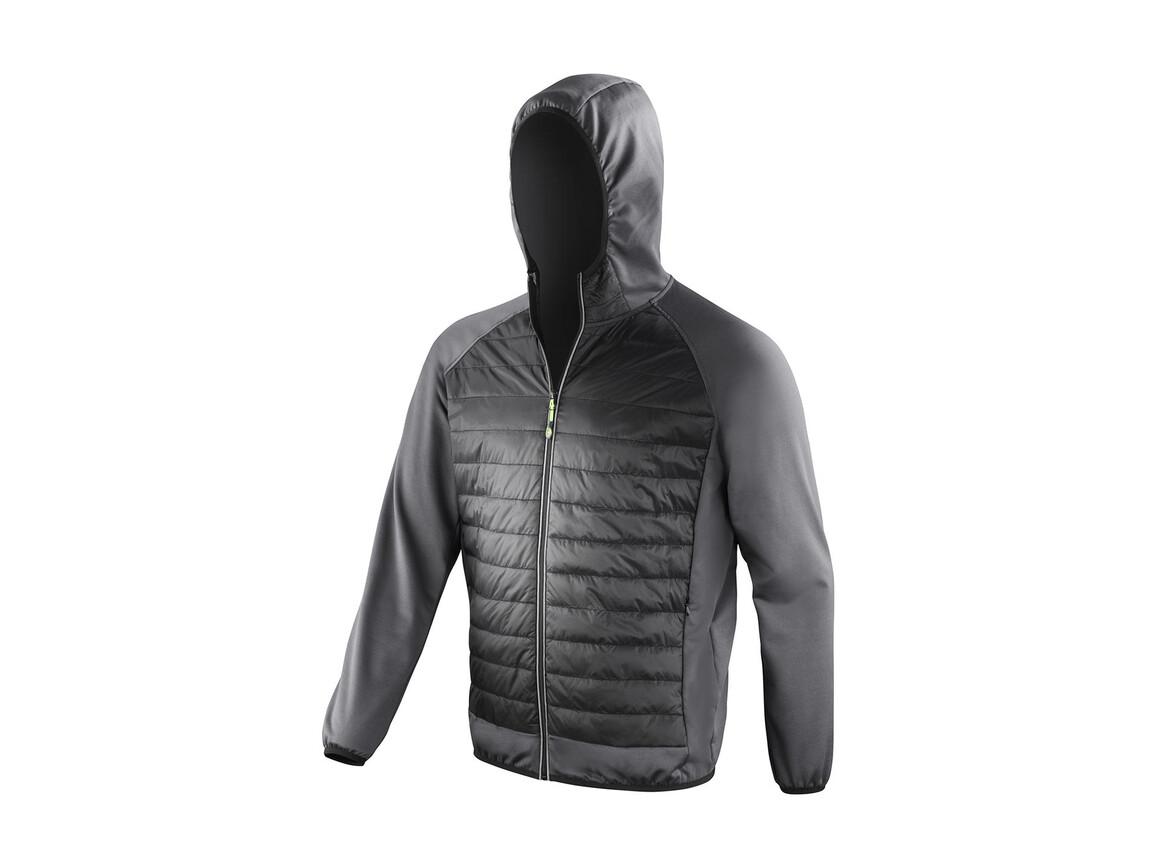 Result Men`s Zero Gravity Jacket, Black/Charcoal, 2XL bedrucken, Art.-Nr. 059331597