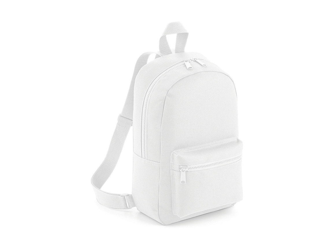 Bag Base Mini Essential Fashion Backpack, White, One Size bedrucken, Art.-Nr. 064290000