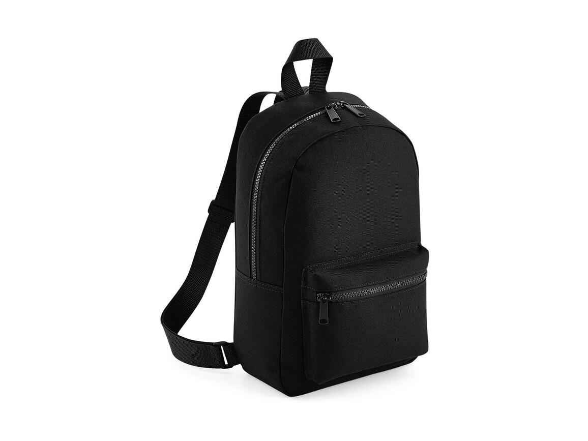 Bag Base Mini Essential Fashion Backpack, Black, One Size bedrucken, Art.-Nr. 064291010