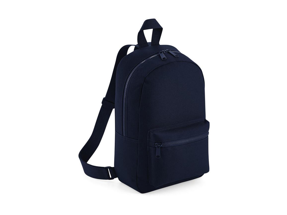 Bag Base Mini Essential Fashion Backpack, French Navy, One Size bedrucken, Art.-Nr. 064292010