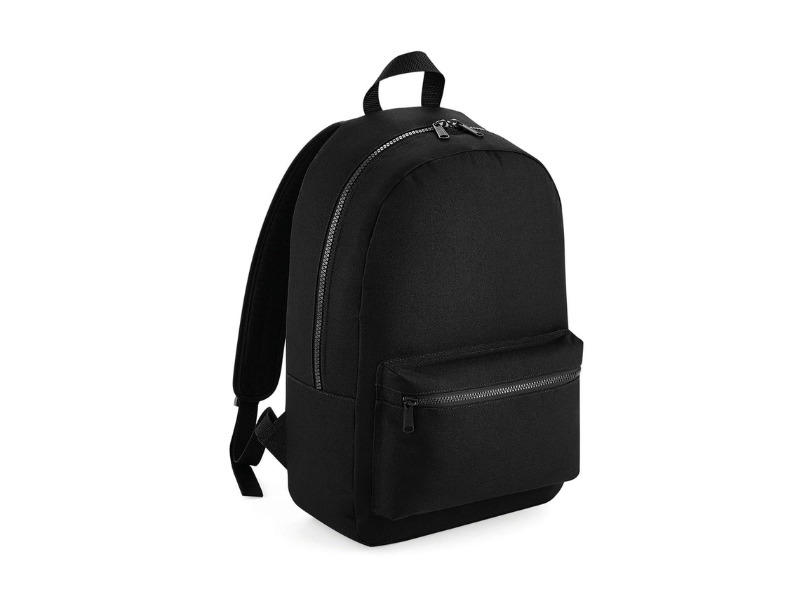 Bag Base Essential Fashion Backpack, Black, One Size bedrucken, Art.-Nr. 065291010