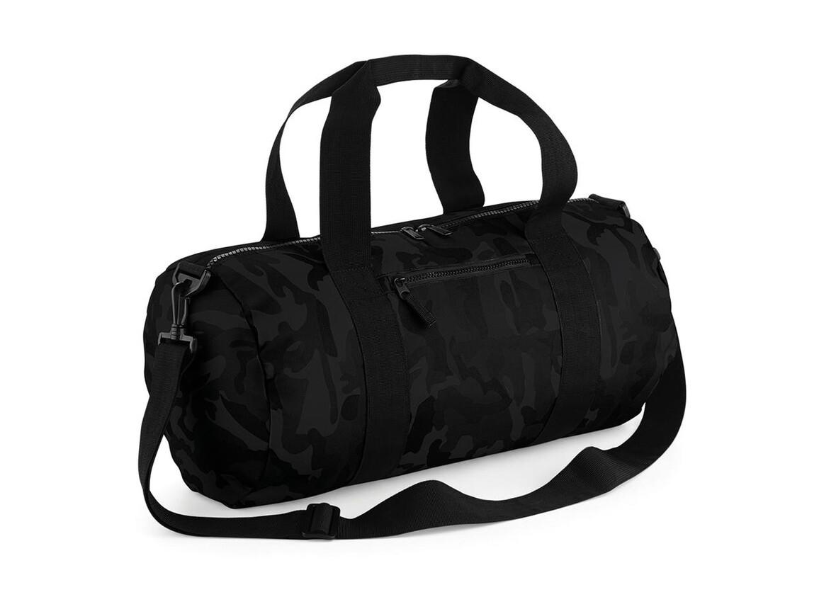 Bag Base Camo Barrel Bag, Midnight Camo, One Size bedrucken, Art.-Nr. 066292850