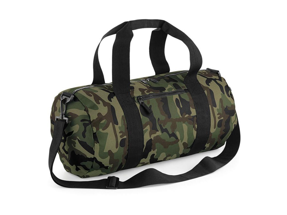 Bag Base Camo Barrel Bag, Jungle Camo, One Size bedrucken, Art.-Nr. 066295850