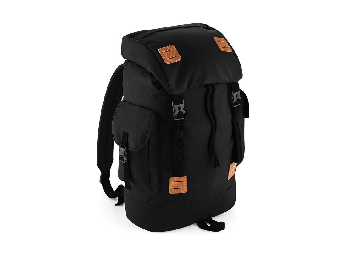 Bag Base Urban Explorer Backpack, Black/Tan, One Size bedrucken, Art.-Nr. 069291620