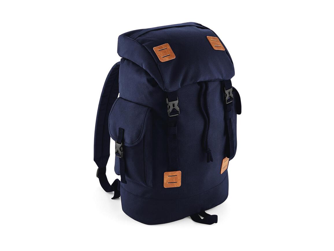 Bag Base Urban Explorer Backpack, Navy Dusk/Tan, One Size bedrucken, Art.-Nr. 069292570