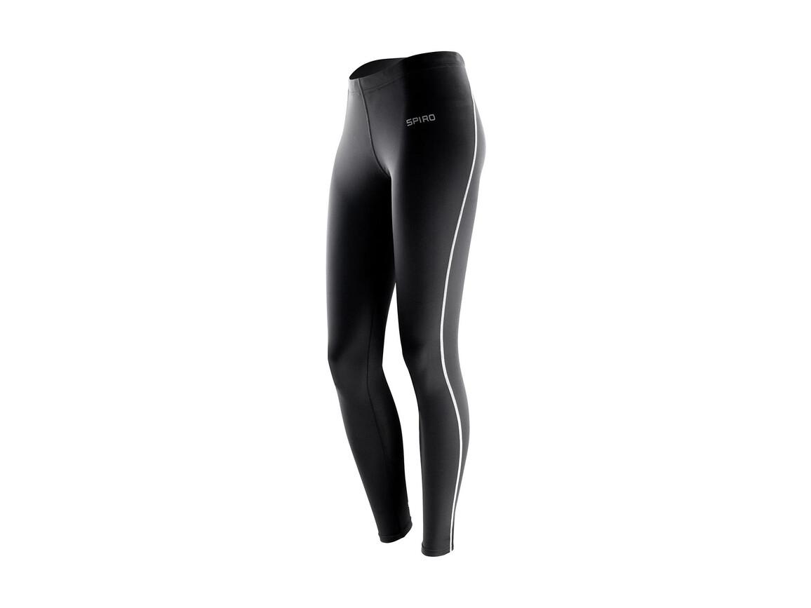 Result Women`s Bodyfit Base Layer Leggings, Black, XS/S bedrucken, Art.-Nr. 069331012
