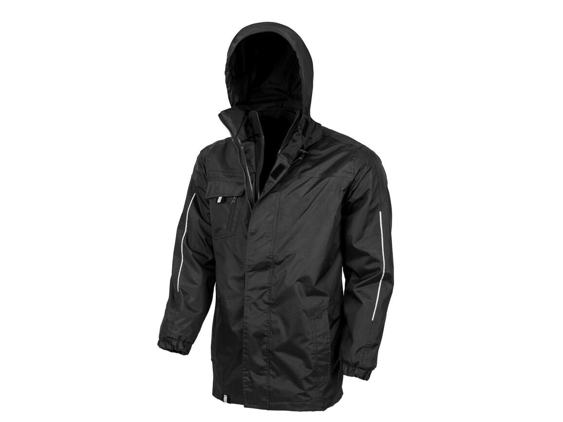 Result Printable 3-in-1 Transit Jacket, Black, M bedrucken, Art.-Nr. 071331014