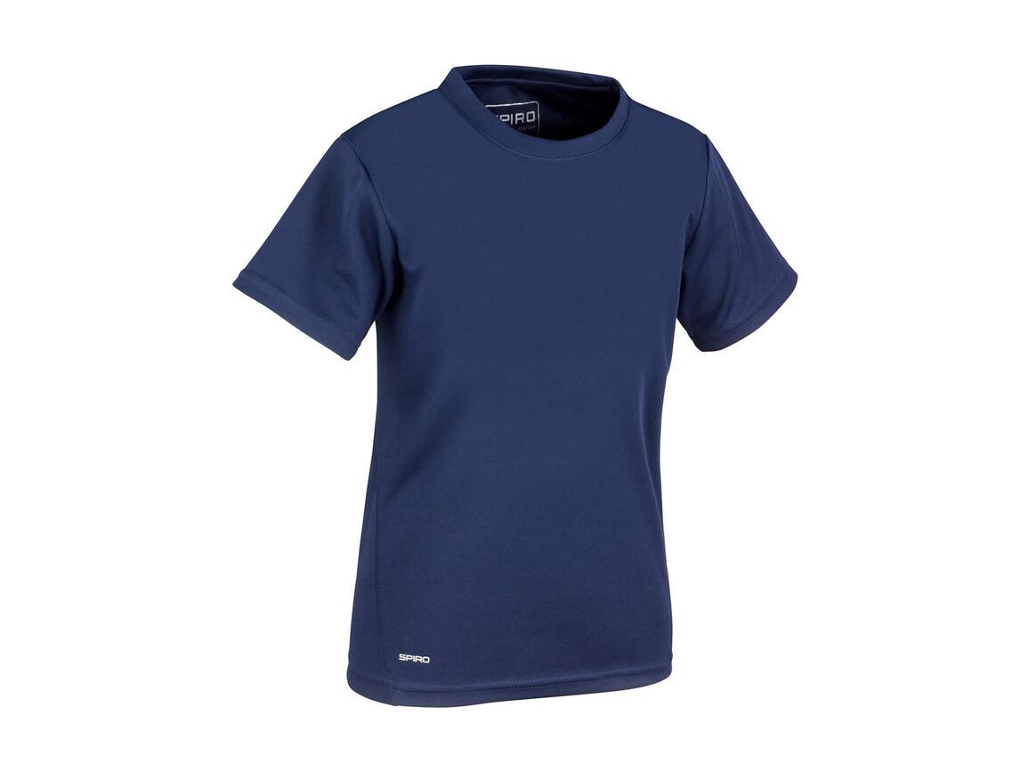 Result Junior Quick Dry T-Shirt, Navy, M (7-8, 128) bedrucken, Art.-Nr. 072332004