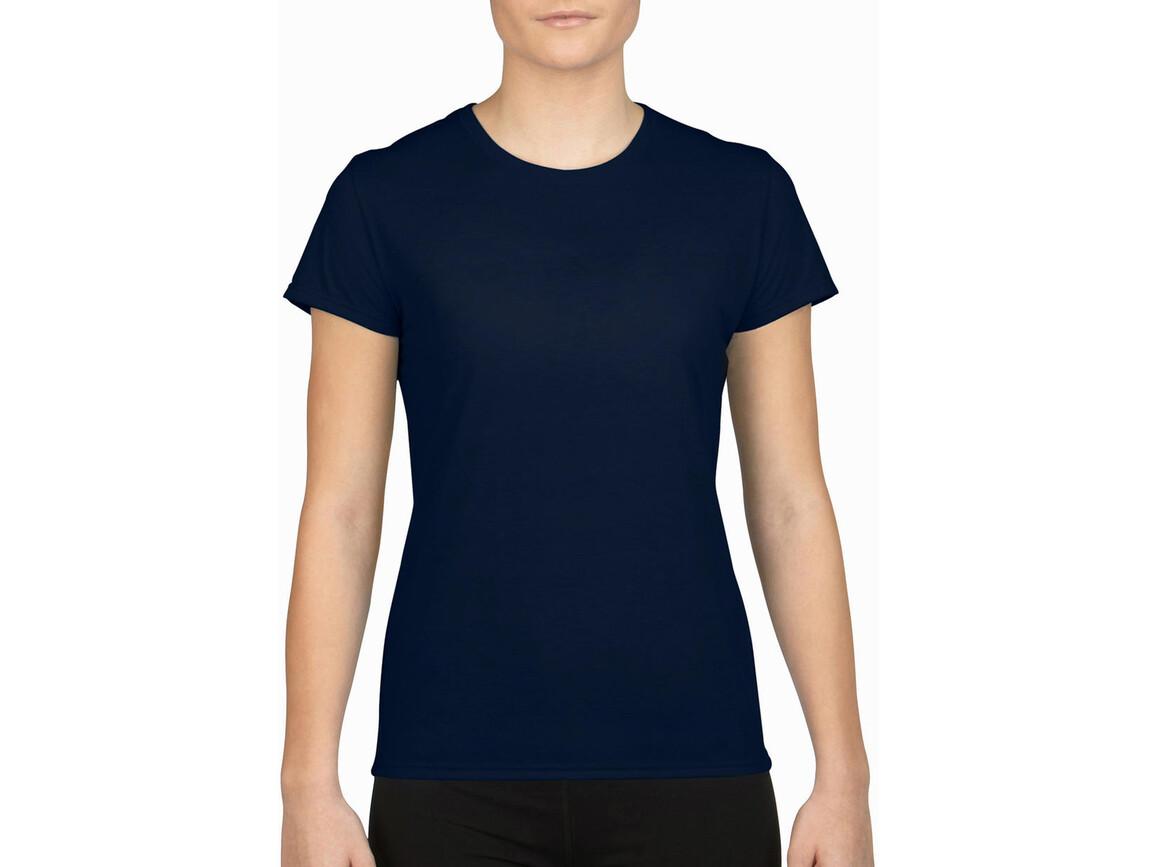 Gildan Gildan Performance® Ladies` T-Shirt, Navy, XS bedrucken, Art.-Nr. 076092002