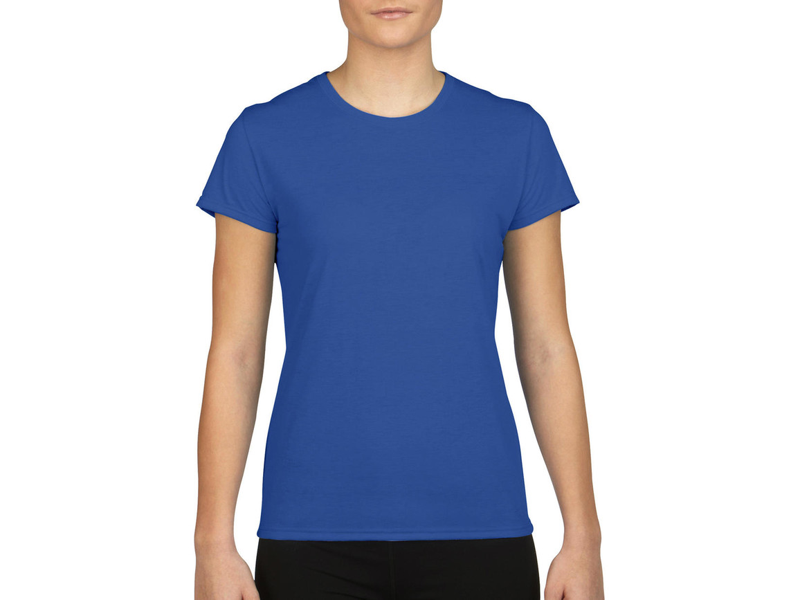 Gildan Gildan Performance® Ladies` T-Shirt, Royal, S bedrucken, Art.-Nr. 076093003