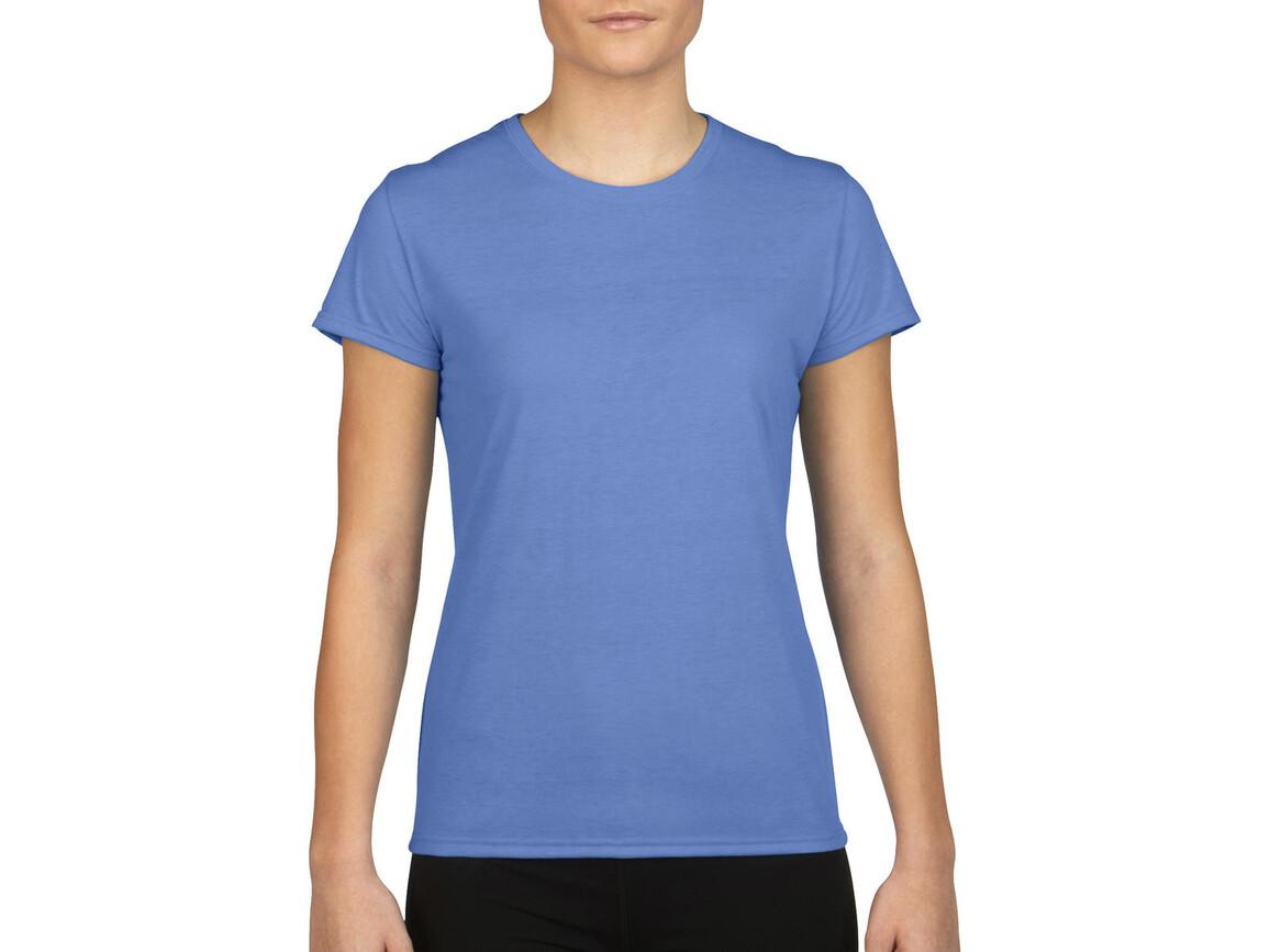 Gildan Gildan Performance® Ladies` T-Shirt, Carolina Blue, XL bedrucken, Art.-Nr. 076093226