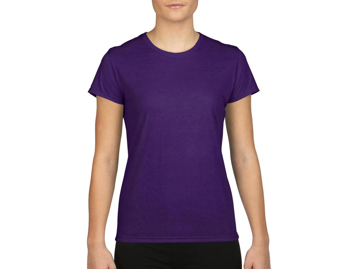 Gildan Gildan Performance® Ladies` T-Shirt, Purple, 2XL bedrucken, Art.-Nr. 076093497