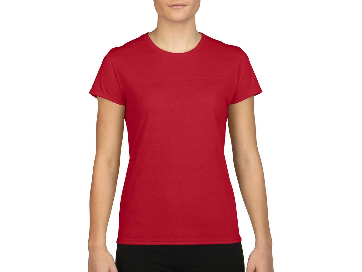 Gildan Gildan Performance® Ladies` T-Shirt, Red, L bedrucken, Art.-Nr. 076094005