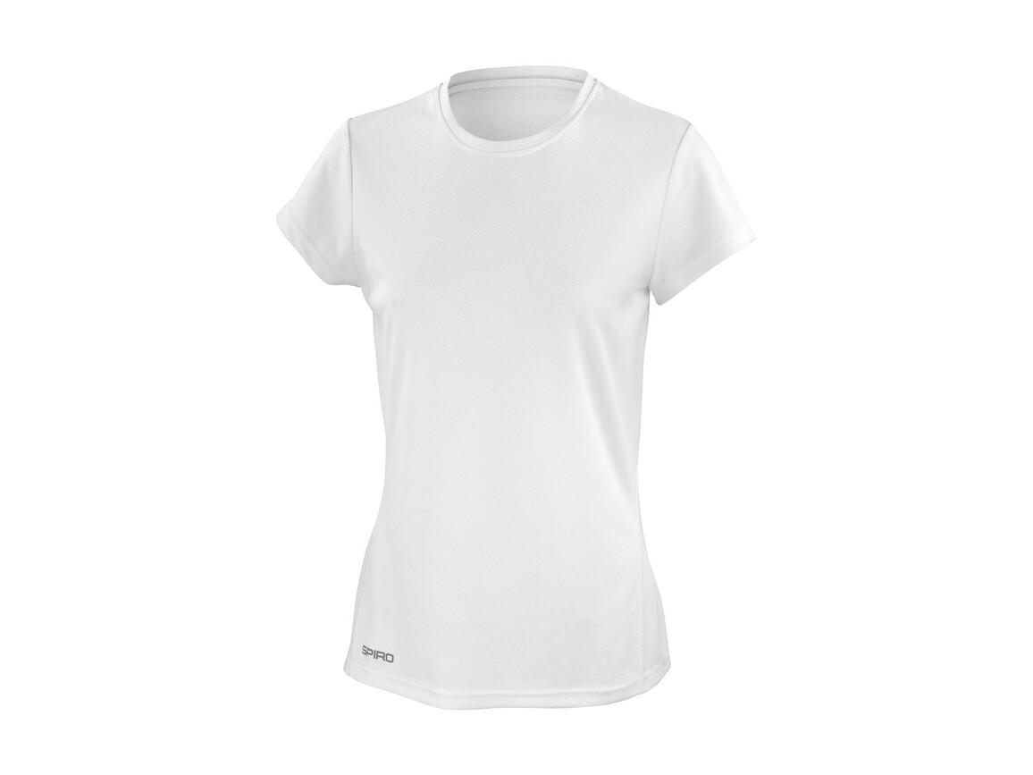 Result Ladies` Performance T-Shirt, White, L (14) bedrucken, Art.-Nr. 076330005