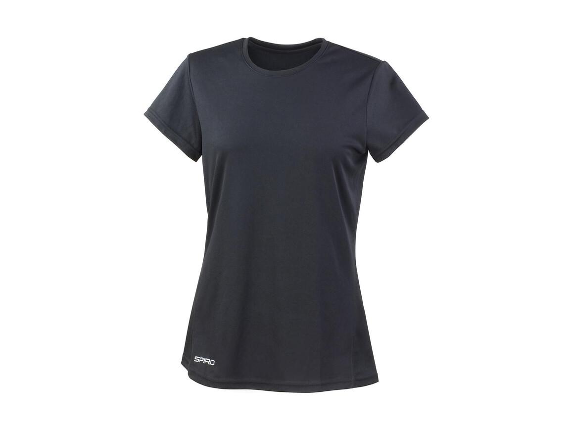 Result Ladies` Performance T-Shirt, Black, S (10) bedrucken, Art.-Nr. 076331013