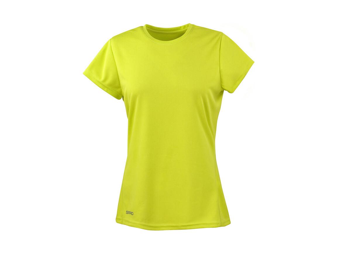 Result Ladies` Performance T-Shirt, Lime Green, XL (16) bedrucken, Art.-Nr. 076335216