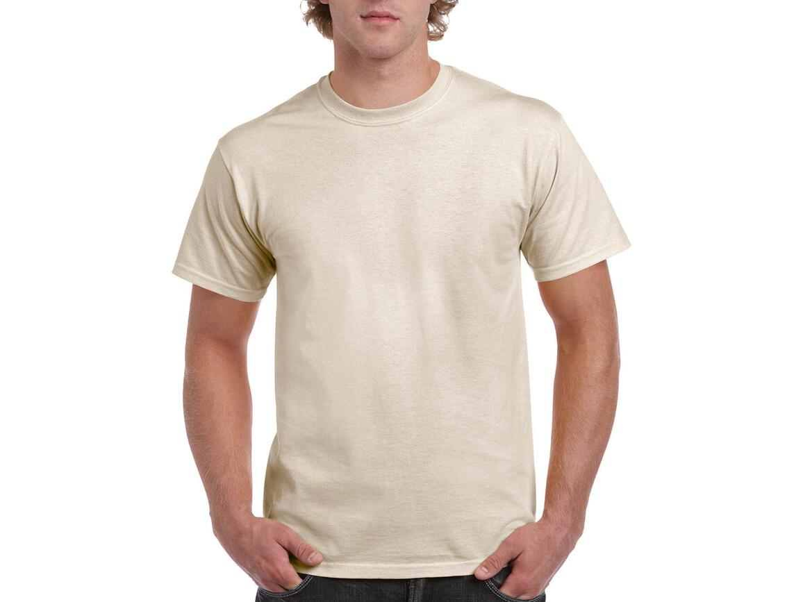 Gildan Ultra Cotton Adult T-Shirt, Natural, 2XL bedrucken, Art.-Nr. 102090087