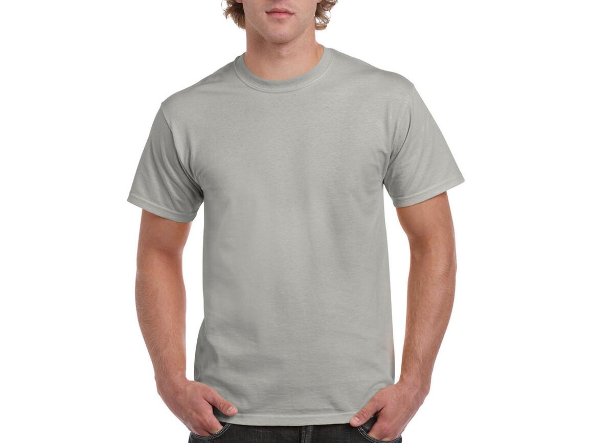 Gildan Ultra Cotton Adult T-Shirt, Ice Grey, M bedrucken, Art.-Nr. 102091084