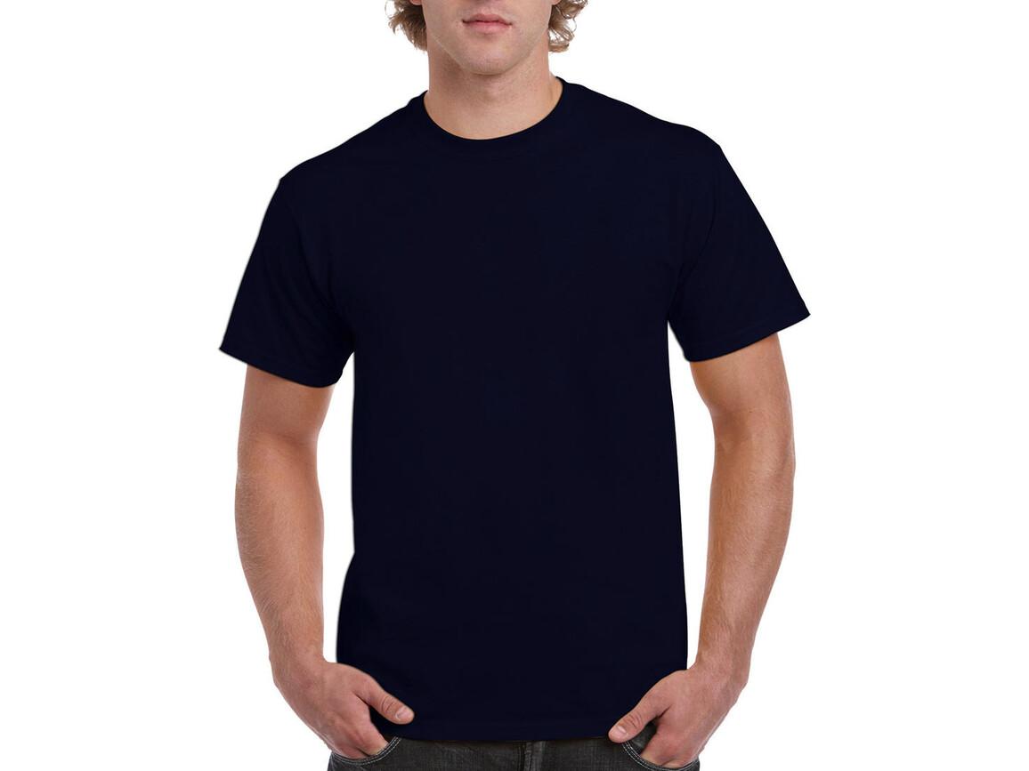 Gildan Ultra Cotton Adult T-Shirt, Navy, L bedrucken, Art.-Nr. 102092005