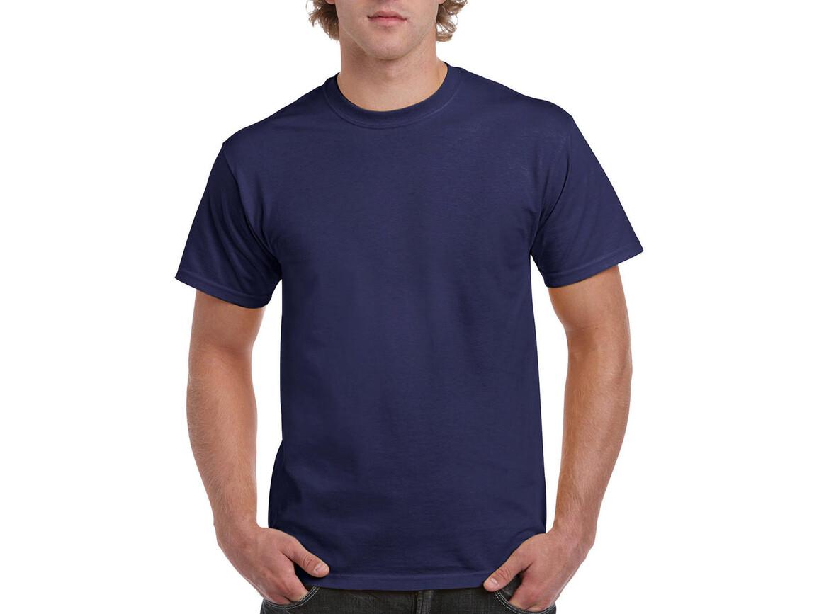 Gildan Ultra Cotton Adult T-Shirt, Metro Blue, XL bedrucken, Art.-Nr. 102092116