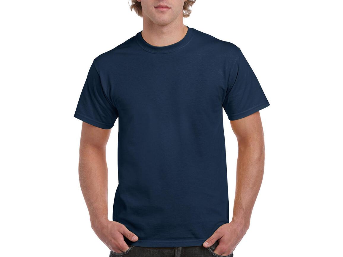 Gildan Ultra Cotton Adult T-Shirt, Blue Dusk, 2XL bedrucken, Art.-Nr. 102092187