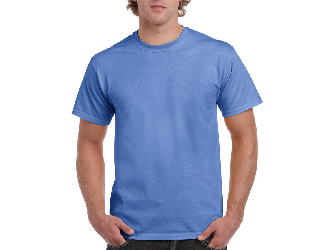 Gildan Ultra Cotton Adult T-Shirt, Carolina Blue, M bedrucken, Art.-Nr. 102093224