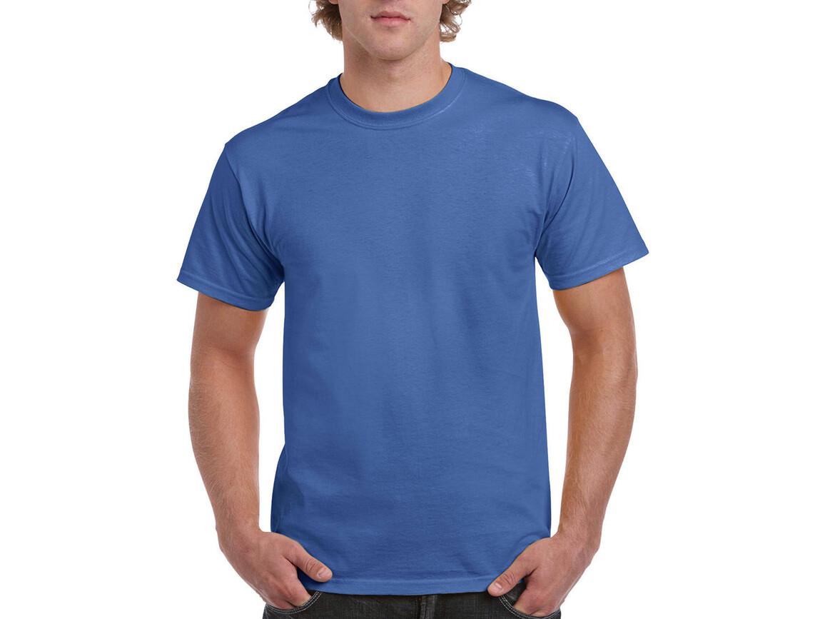 Gildan Ultra Cotton Adult T-Shirt, Iris, M bedrucken, Art.-Nr. 102093234