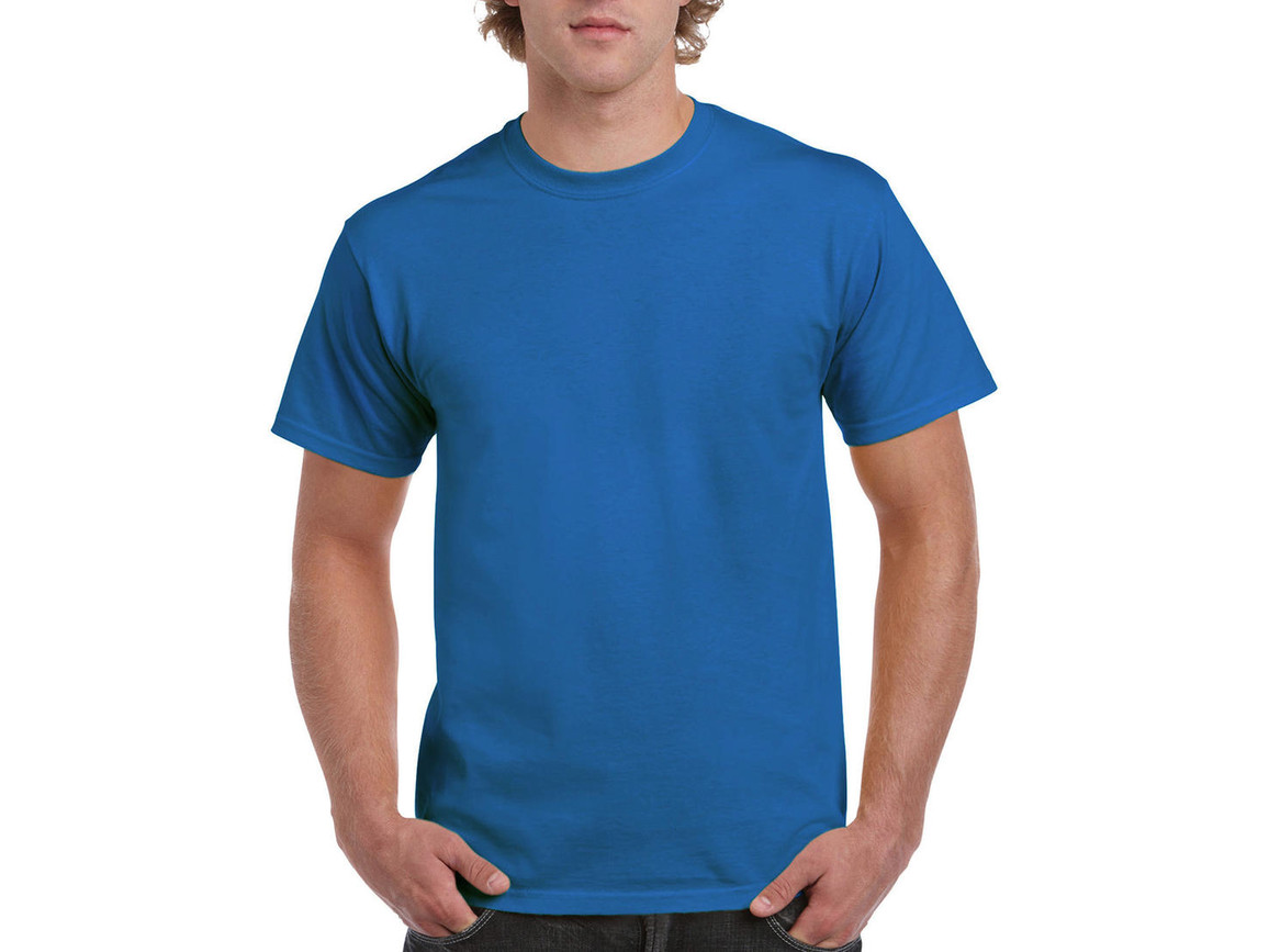 Gildan Ultra Cotton Adult T-Shirt, Sapphire, M bedrucken, Art.-Nr. 102093294