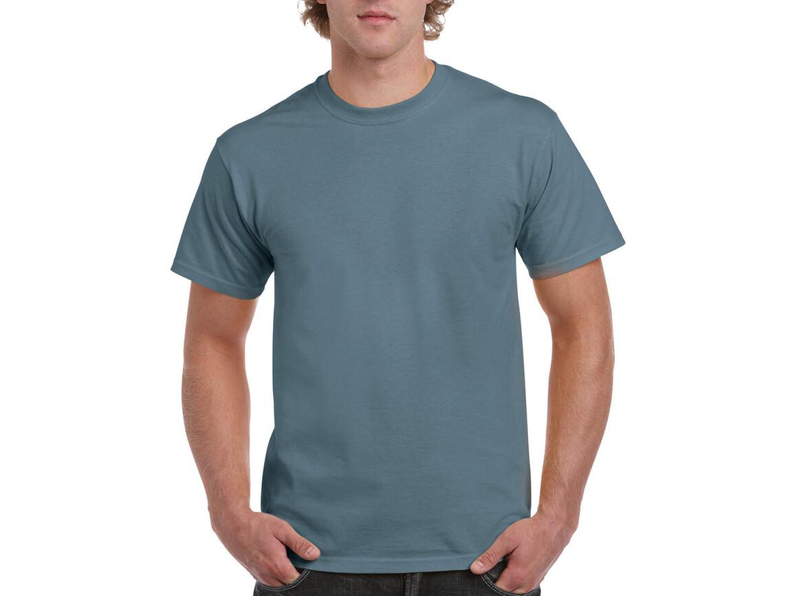 Gildan Ultra Cotton Adult T-Shirt, Stone Blue, L bedrucken, Art.-Nr. 102093365