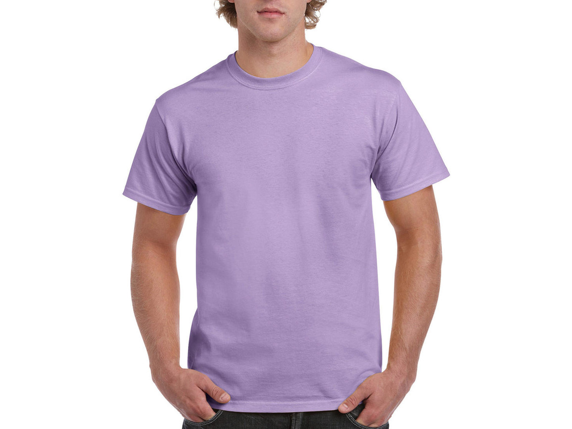 Gildan Ultra Cotton Adult T-Shirt, Orchid, M bedrucken, Art.-Nr. 102093454