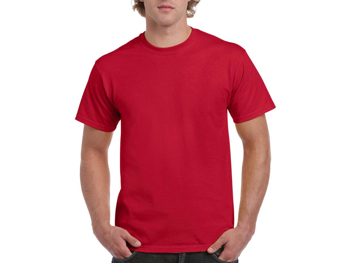 Gildan Ultra Cotton Adult T-Shirt, Red, 2XL bedrucken, Art.-Nr. 102094007