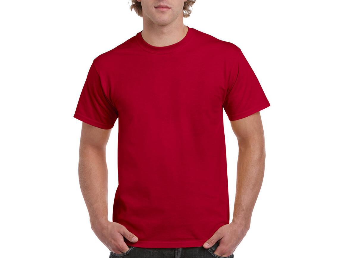 Gildan Ultra Cotton Adult T-Shirt, Cherry Red, 2XL bedrucken, Art.-Nr. 102094017