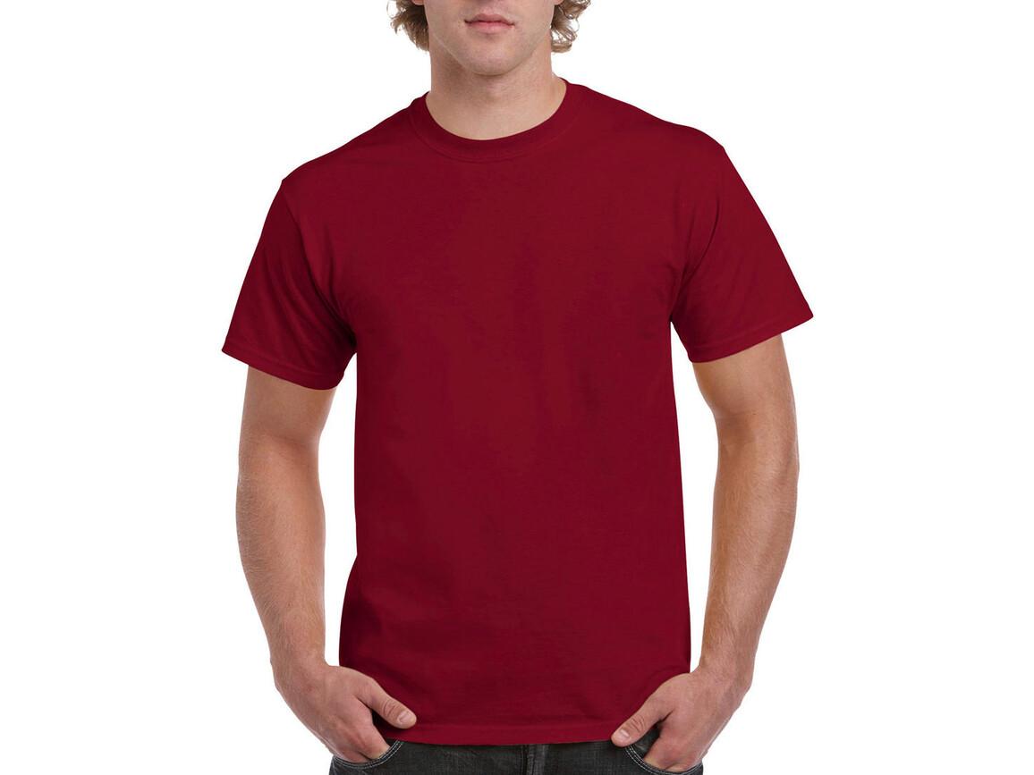 Gildan Ultra Cotton Adult T-Shirt, Cardinal Red, 2XL bedrucken, Art.-Nr. 102094027