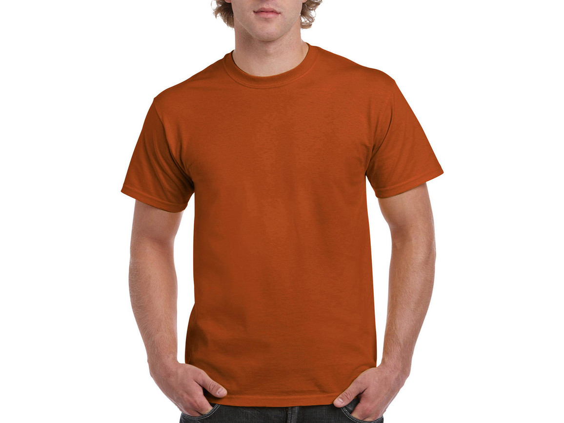 Gildan Ultra Cotton Adult T-Shirt, Texas Orange, XL bedrucken, Art.-Nr. 102094086