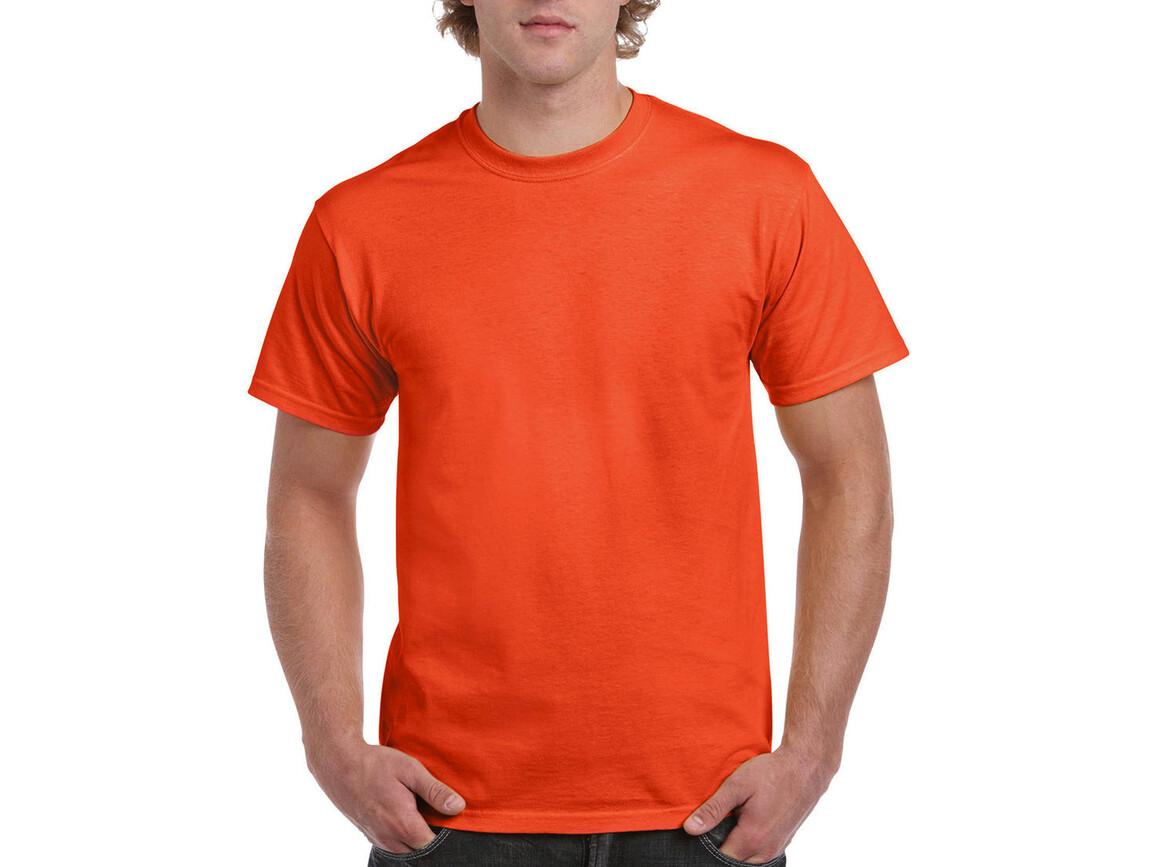 Gildan Ultra Cotton Adult T-Shirt, Orange, M bedrucken, Art.-Nr. 102094104