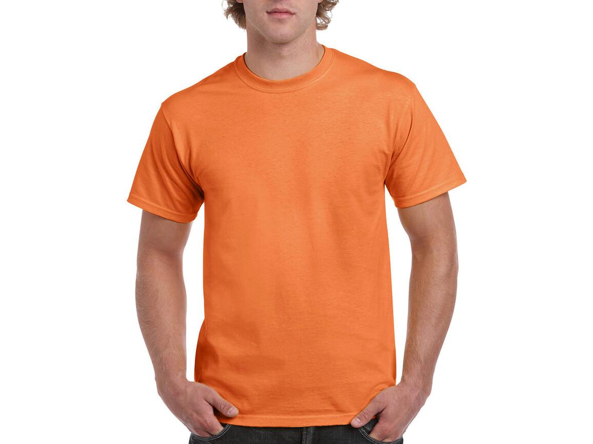 Gildan Ultra Cotton Adult T-Shirt, Tangerine, S bedrucken, Art.-Nr. 102094113