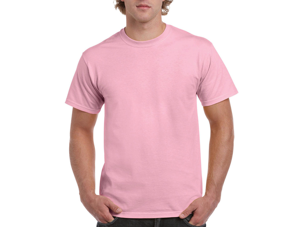 Gildan Ultra Cotton Adult T-Shirt, Light Pink, 2XL bedrucken, Art.-Nr. 102094207