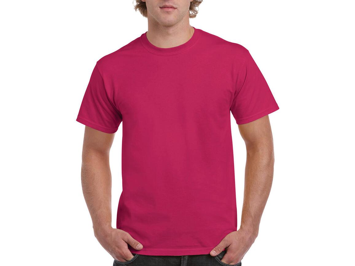 Gildan Ultra Cotton Adult T-Shirt, Heliconia, 2XL bedrucken, Art.-Nr. 102094317