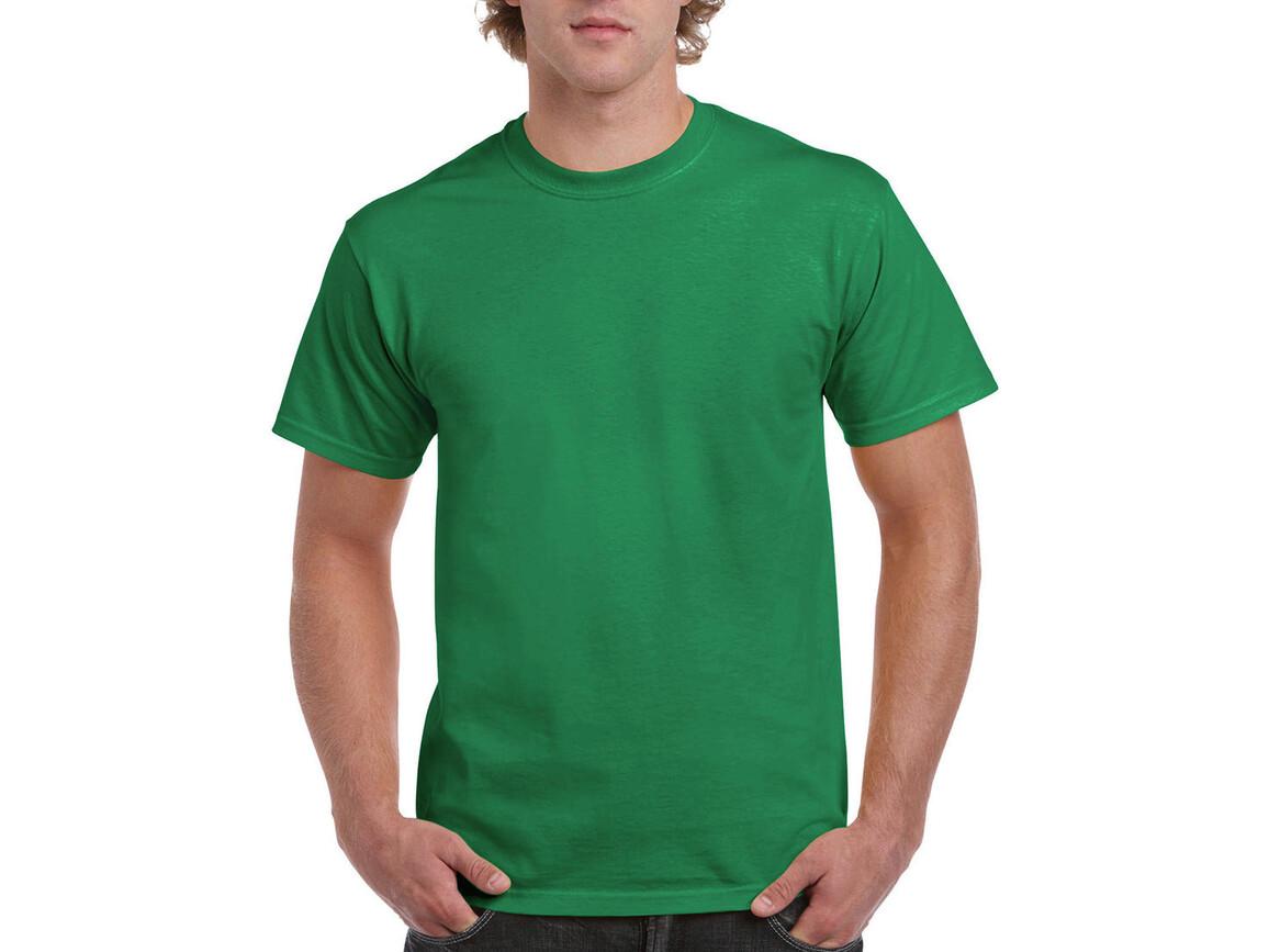 Gildan Ultra Cotton Adult T-Shirt, Kelly Green, M bedrucken, Art.-Nr. 102095184