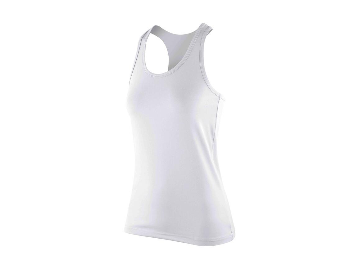 Result Women`s Impact Softex® Top, White, XS (8) bedrucken, Art.-Nr. 107330002