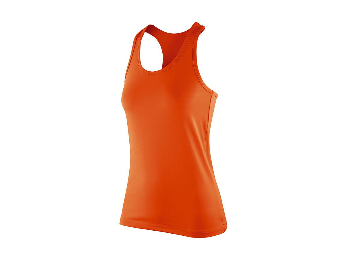 Result Women`s Impact Softex® Top, Tangerine, L (14) bedrucken, Art.-Nr. 107334115