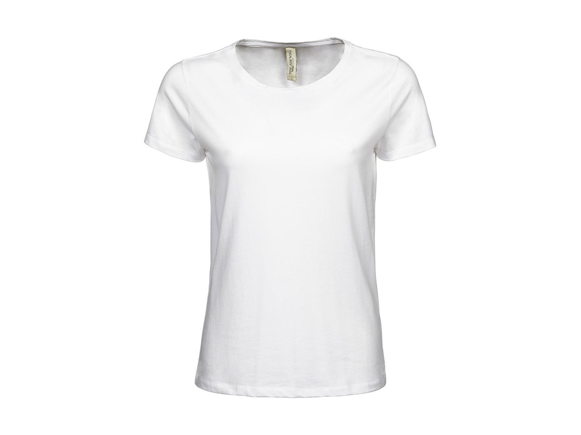Tee Jays Ladies` Luxury Tee, White, L bedrucken, Art.-Nr. 107540005