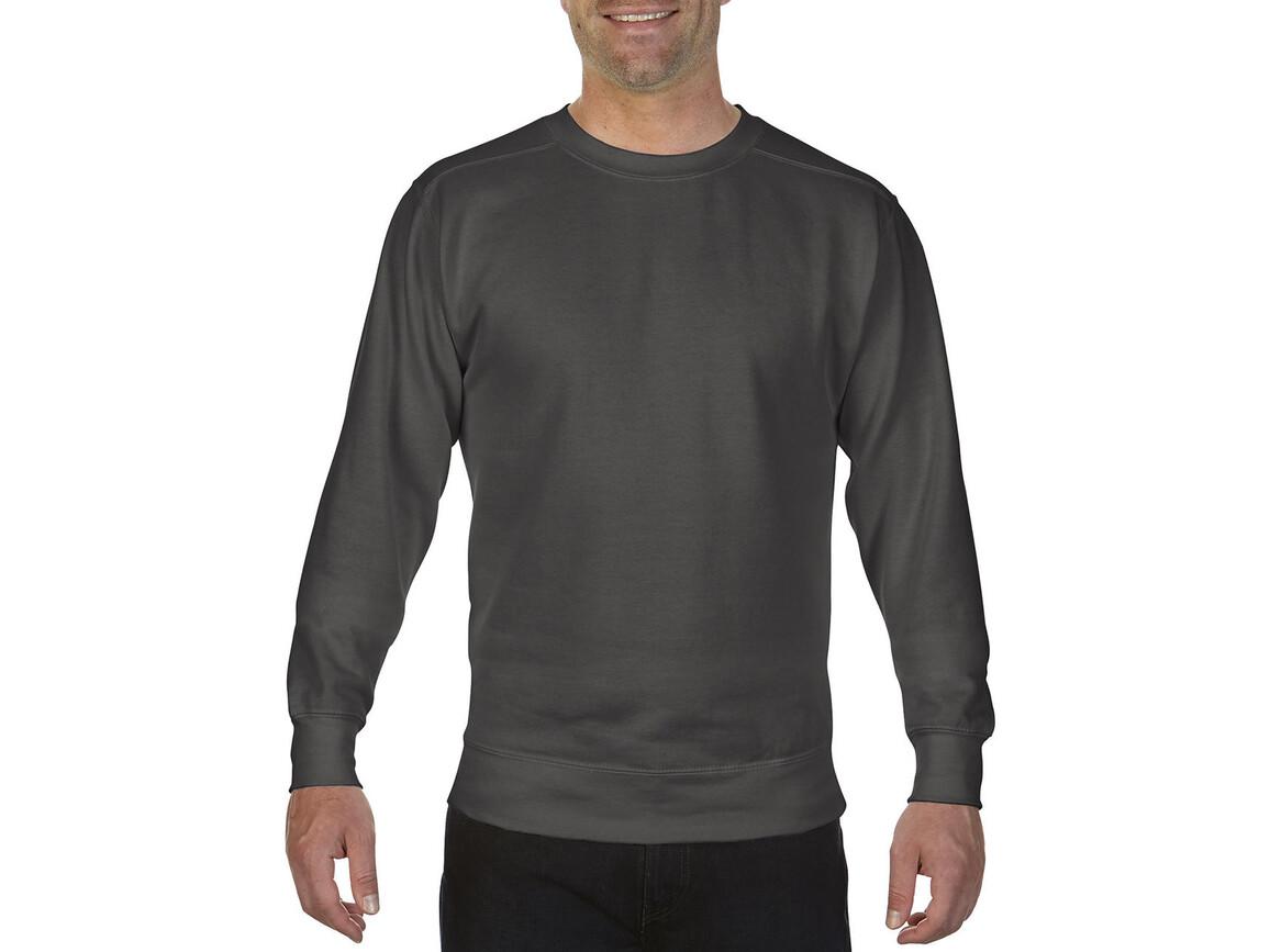 Comfort Colors Adult Crewneck Sweatshirt, Pepper, M bedrucken, Art.-Nr. 200031324